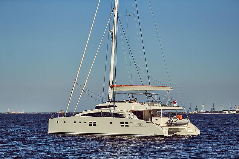 Ruwani yacht anchored
