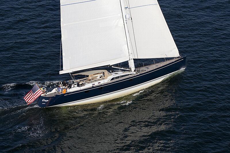 Virago yacht sailing