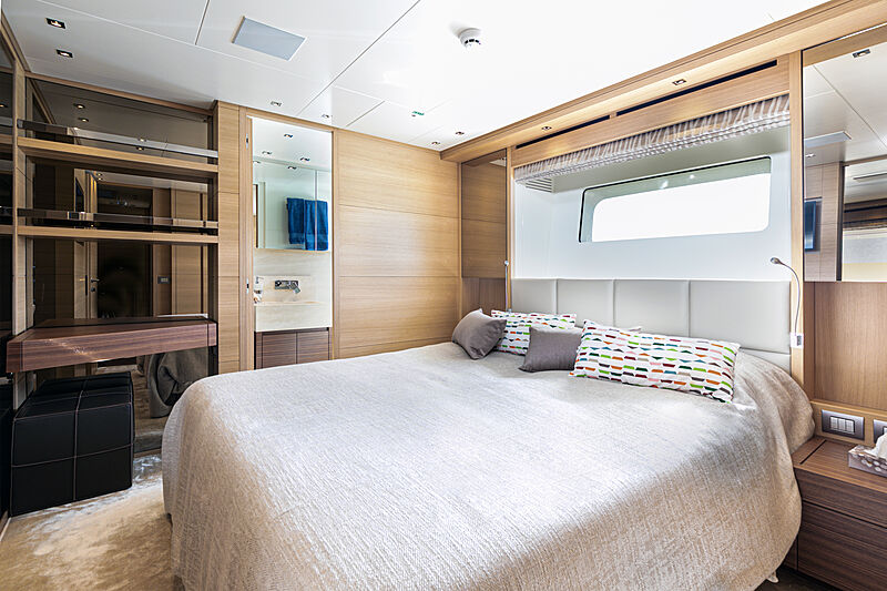 The Unifier King Abdulaziz yacht stateroom