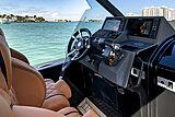 Technohull Omega 47 tender wheelhouse