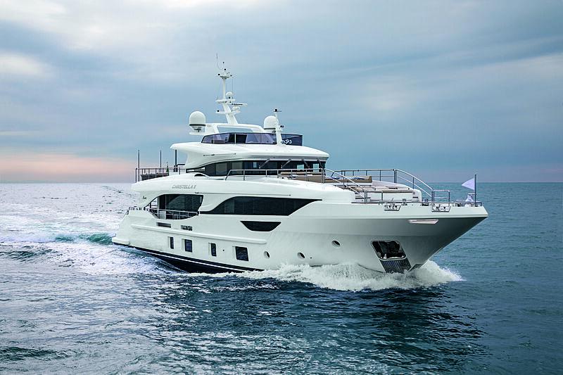 Christella II yacht cruising