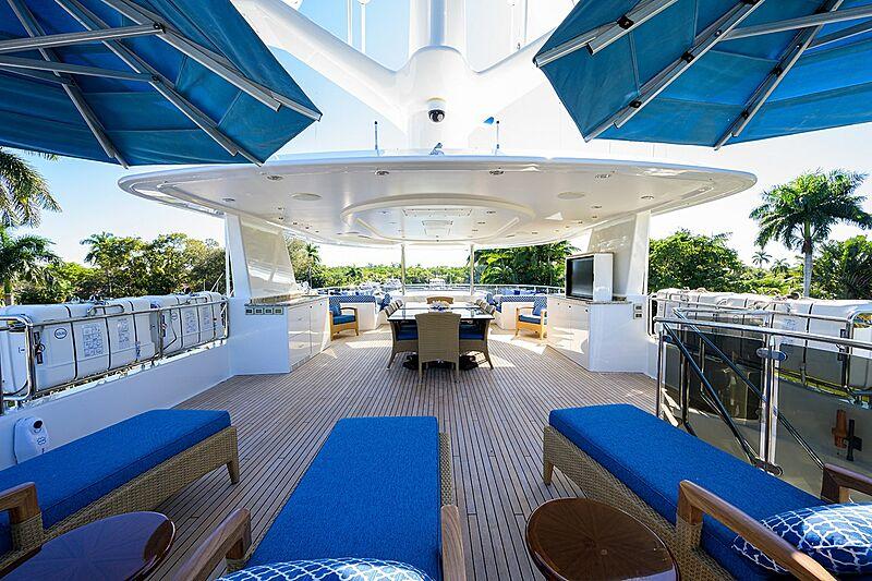 Milk Money yacht deck