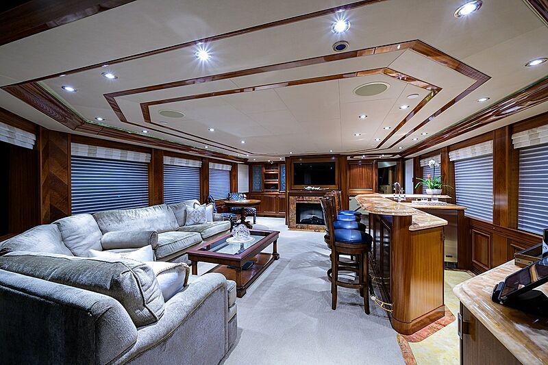 Milk Money yacht saloon