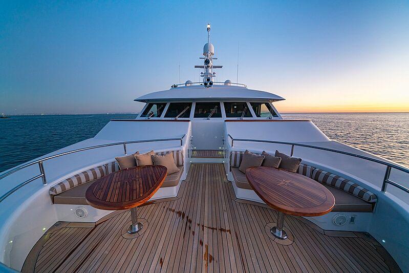 Dumb Luck yacht deck