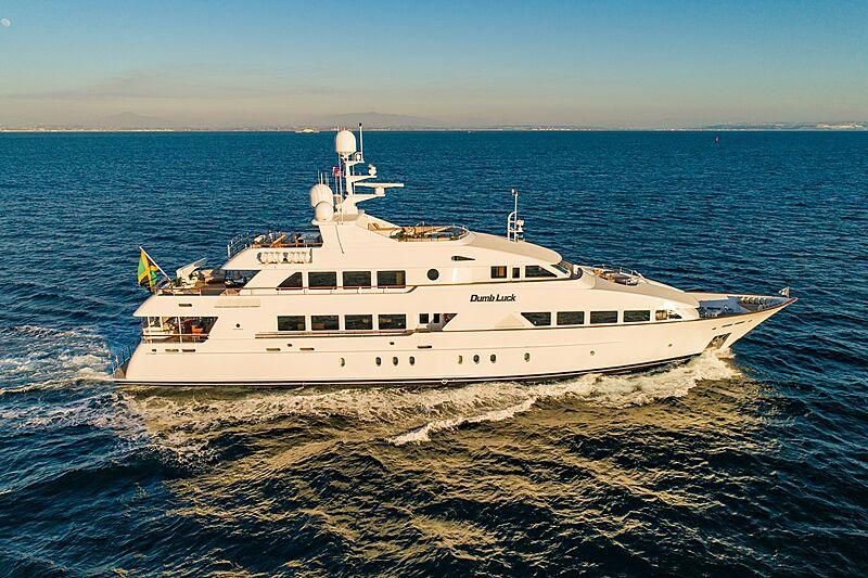 Dumb Luck yacht cruising