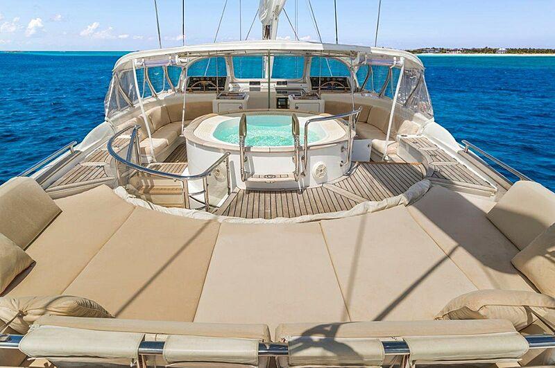 Georgia yacht deck