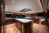 Seahawk yacht galley