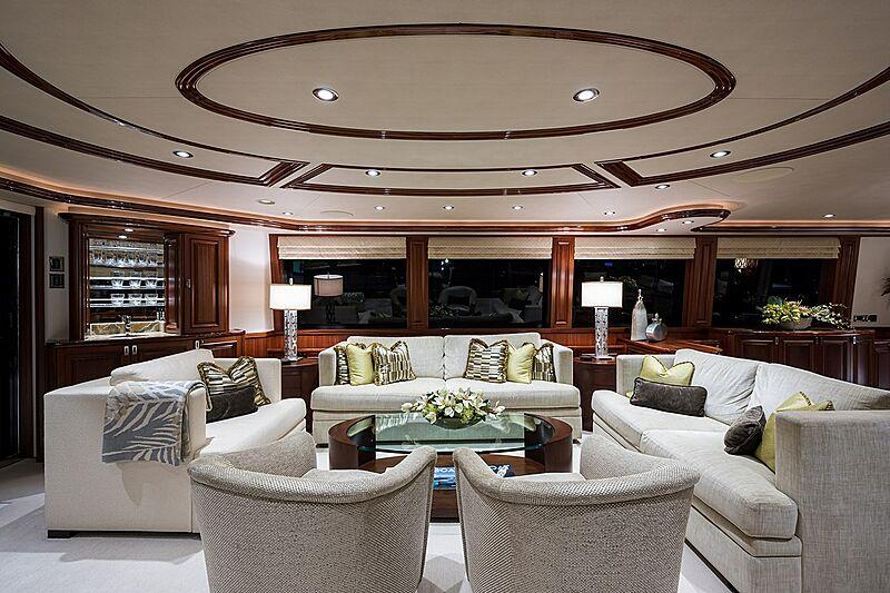 Seahawk yacht saloon