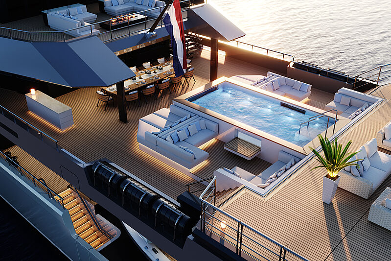 SeaXplorer 77 new design by Damen Yachting
