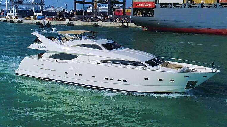 Paladin yacht cruising