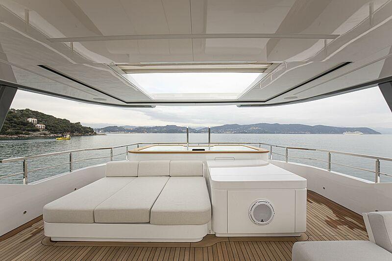Run Away yacht deck