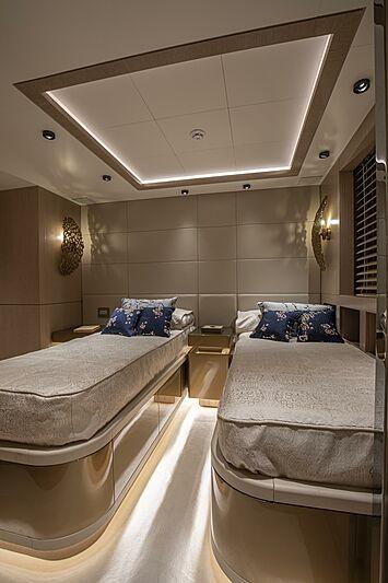 Run Away yacht stateroom