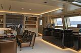 Run Away yacht saloon