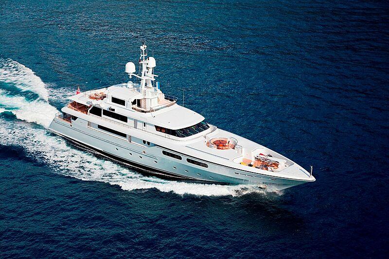 Olmida yacht cruising