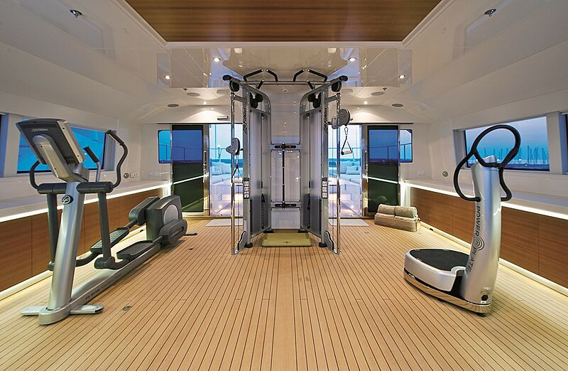Olmida yacht gym