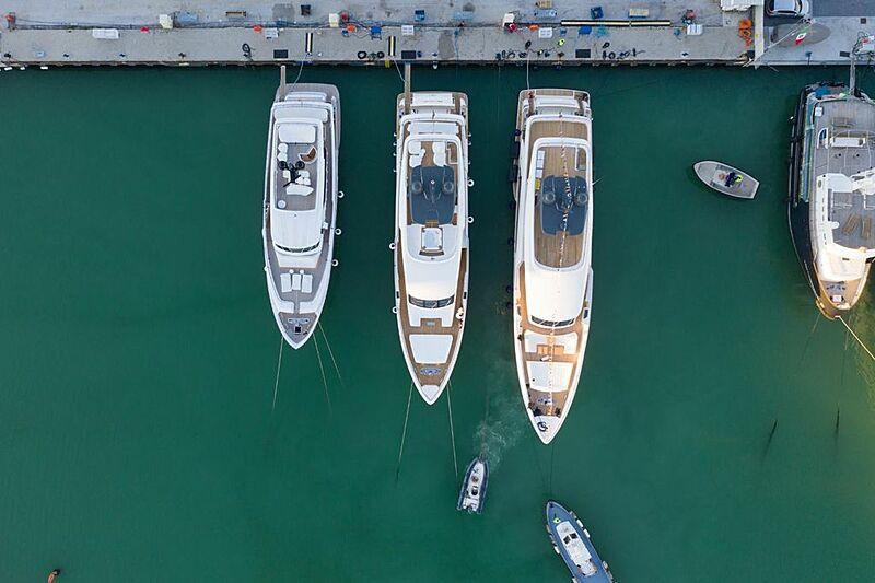 Joanna B yacht launch in Ancona