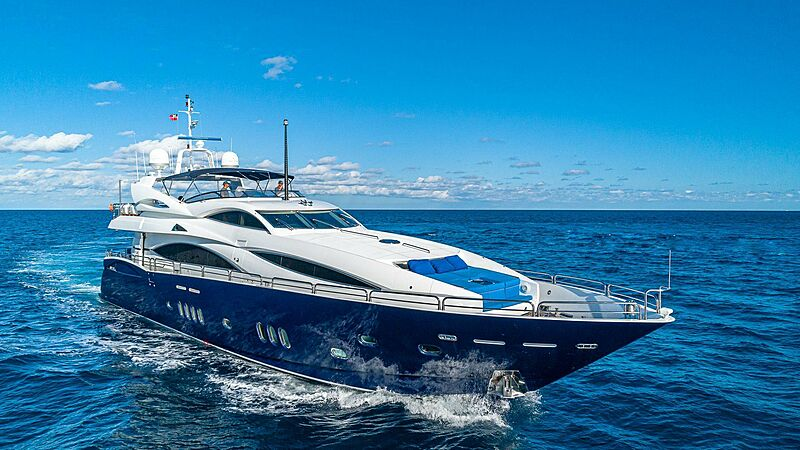 Kefi yacht cruising