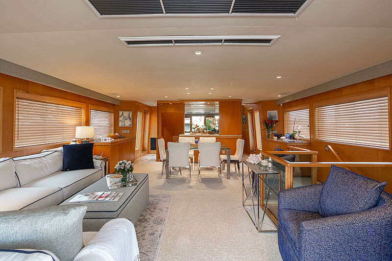 Impulse yacht interior