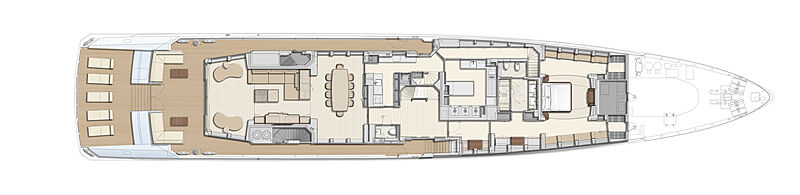 Heesen 19550 Project Altea yacht layout