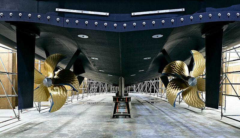 Altea yacht launch at Heesen Yachts
