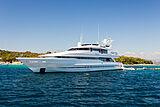 Brazil yacht anchored