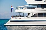 Brazil yacht exterior detail