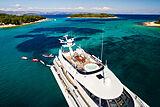 Brazil yacht upper deck