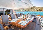 Brazil yacht aft deck