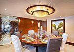 Brazil yacht dining