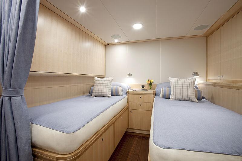 Nostromo yacht stateroom