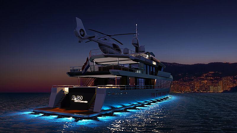 Diana R.50 yacht concept