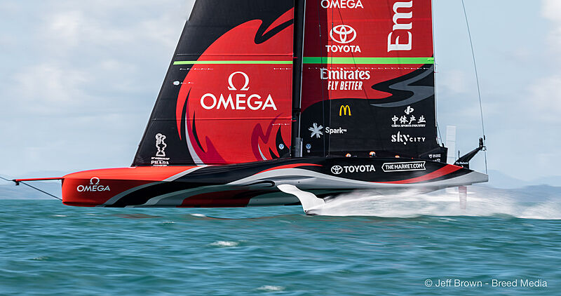 America's Cup 2021 Day 5
