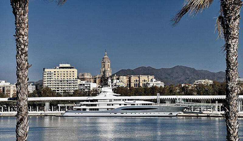 Mayan Queen IV yacht by Nlohm + Voss in Malaga
