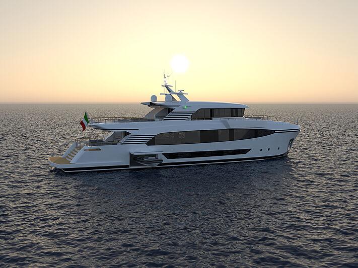 Spadolini 32.8 m motor yacht concept