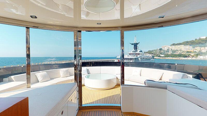 La Pellegrina yacht deck