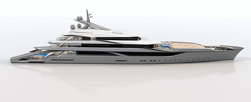 Kappa yacht exterior design