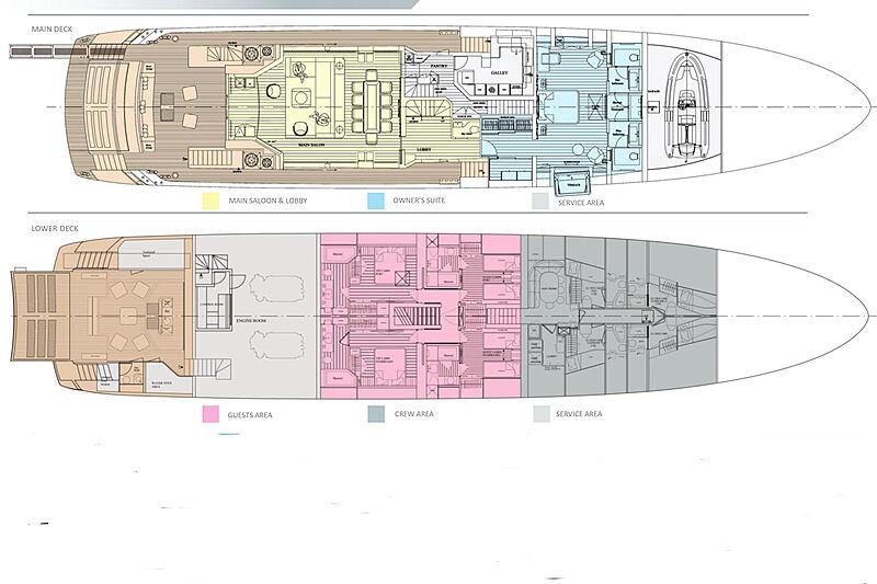 Project Como yacht GA
