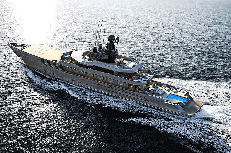 Antonini Navi OPV 56 project exterior design
