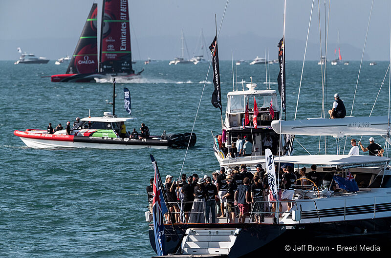 America's Cup 2021 Final Race Day