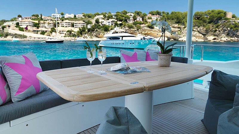 Sono yacht aft deck
