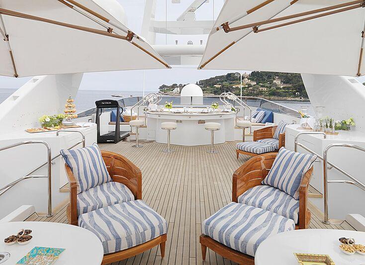 Balaju yacht deck