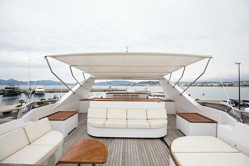 Param Jamuna III yacht sun deck