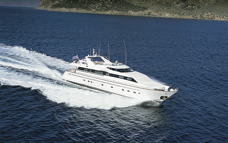 ABSOLUTE KING yacht Falcon