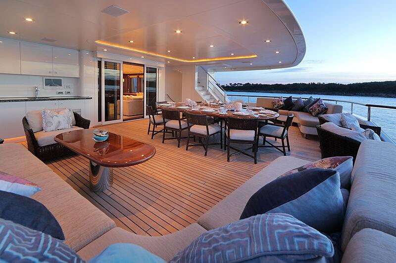Mirgab VI yacht deck