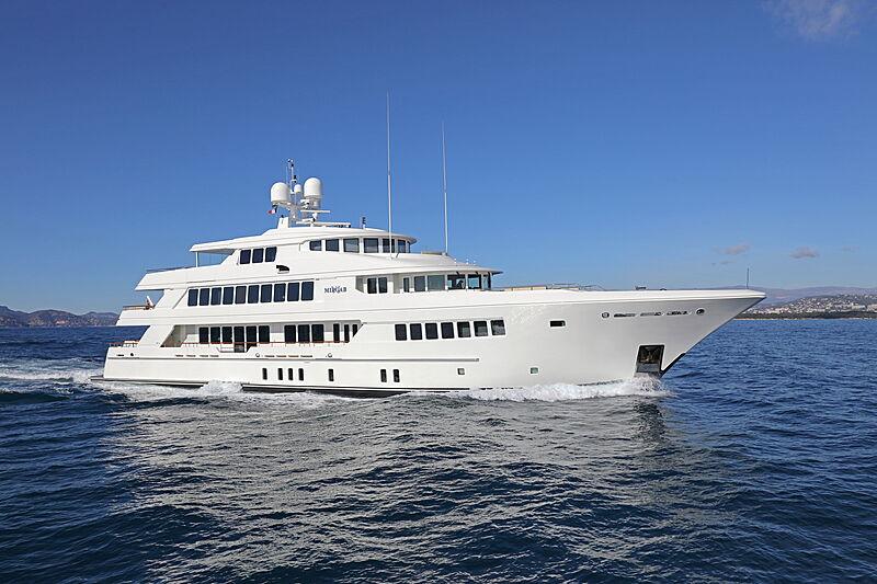 Mirgab VI yacht cruising