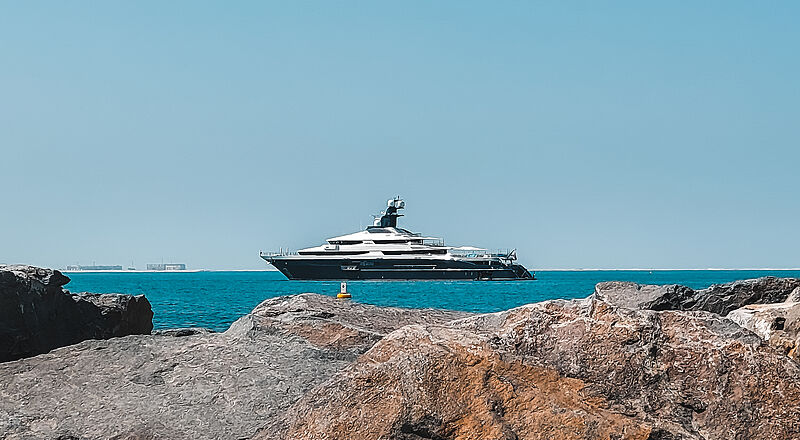Tranquility yacht by Oceanco in Dubai