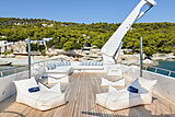 Wind of Fortune yacht sun deck