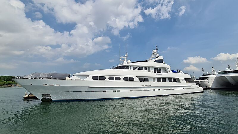 Seashaw yacht by Cheoy Lee in Singapore