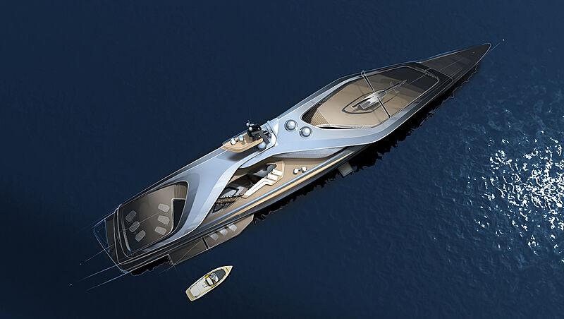 Kairos yacht concept by Oceanco exterior design