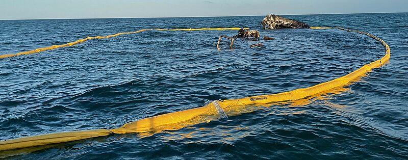 La Dolce Vita yacht wreckage near Marquesas